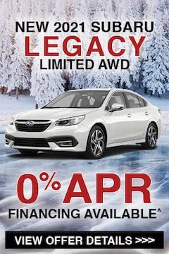 New 2021 Subaru Legacy Limited AWD