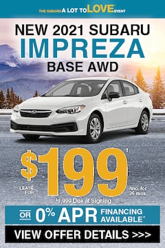 New 2021 Subaru Impreza Base AWD