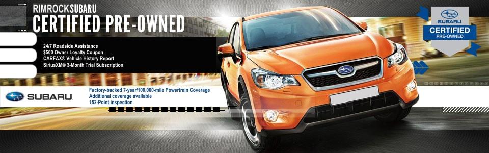 Certified Pre Owned Subaru In Billings Used Subaru Near Laurel Mt