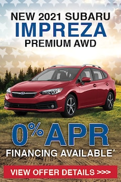New 2021 Subaru Impreza Premium AWD