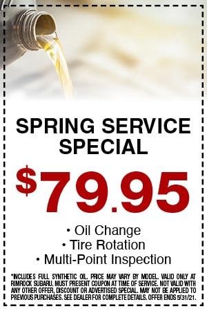 Spring Service Special