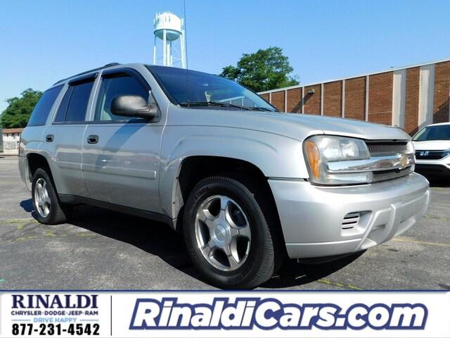 Used 2008 Chevrolet Trailblazer For Sale Shenandoah Pa Stk 7f059b