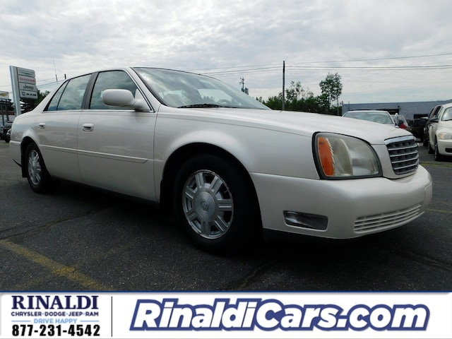 2003 cadillac coupe deville mpg