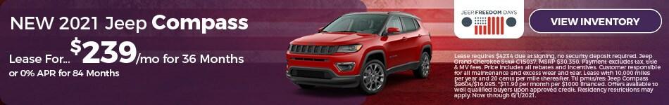 NEW 2021 Jeep Compass