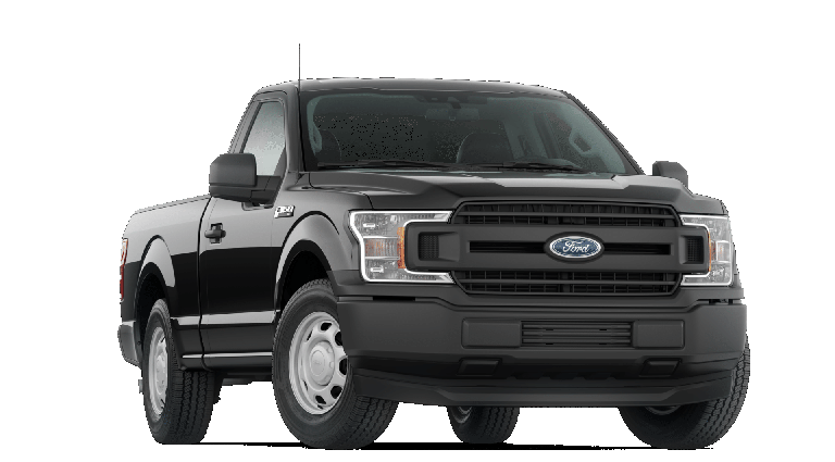 2019 Ford F-150 in black