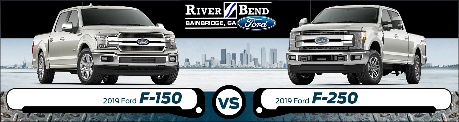 What Is The Towing Capacity Of A Ford F250 >> 2019 Ford F 150 Vs F 250 What Are The Differences
