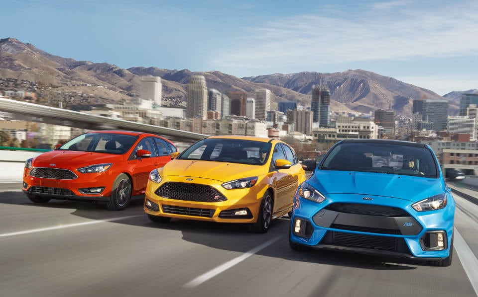 2018 Ford Focus Lineup