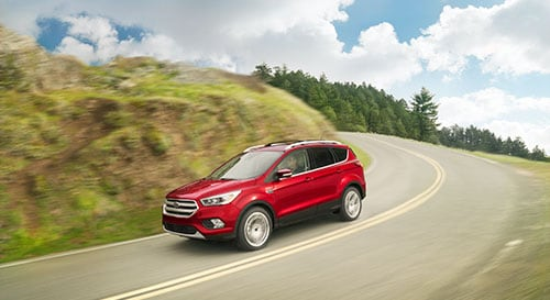 2019 Ford Escape driving