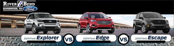 Edge Vs Explorer >> 2019 Ford Explorer Vs Edge Vs Escape What Are The