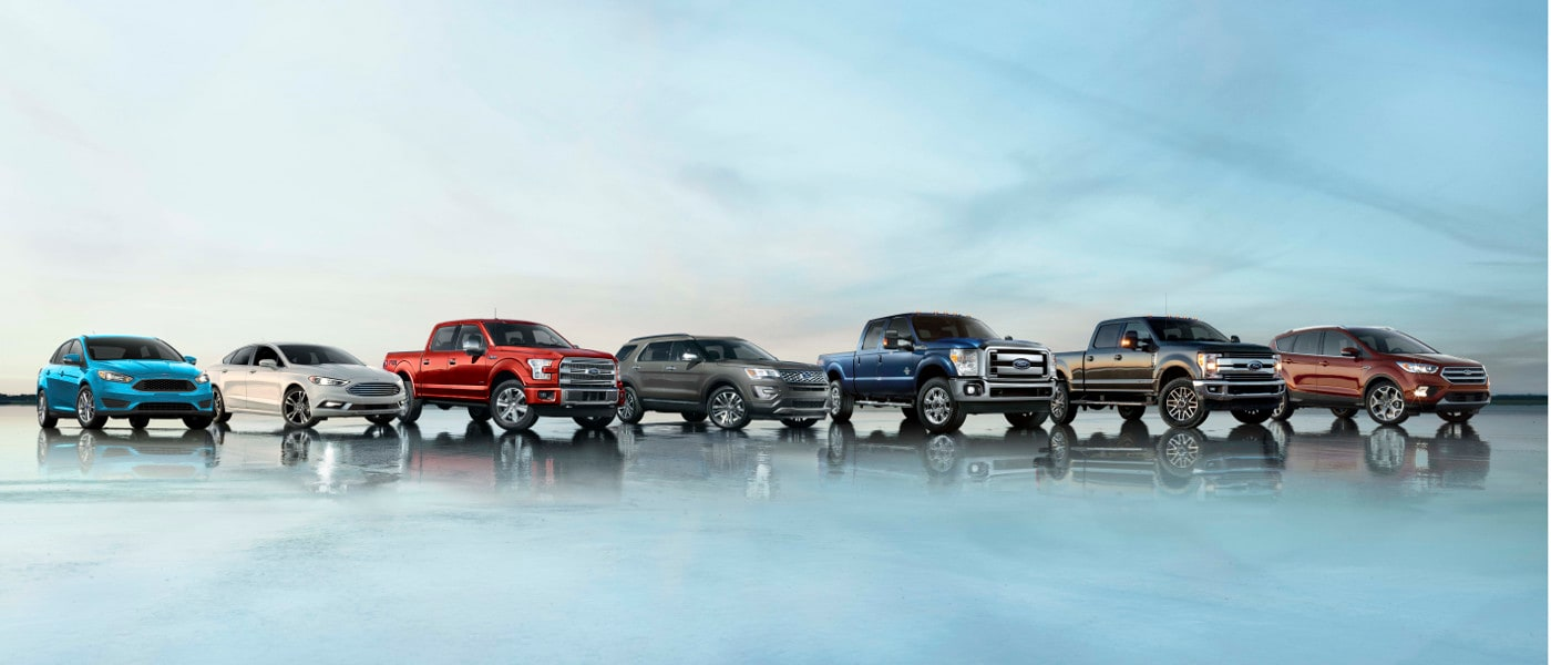 2017 Ford Lineup