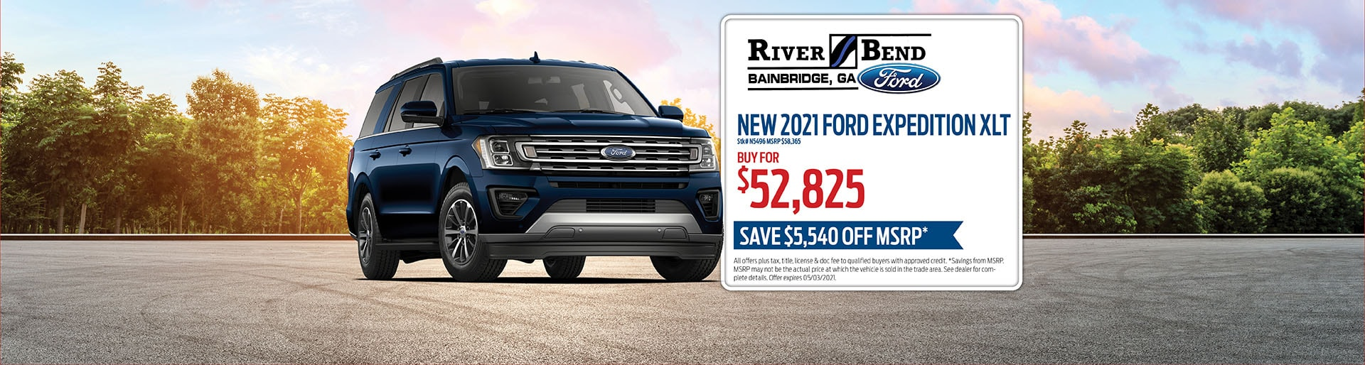 2021 Ford Expedition XLT | RiverBend Ford