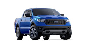 Blue 2019 Ford Ranger XL