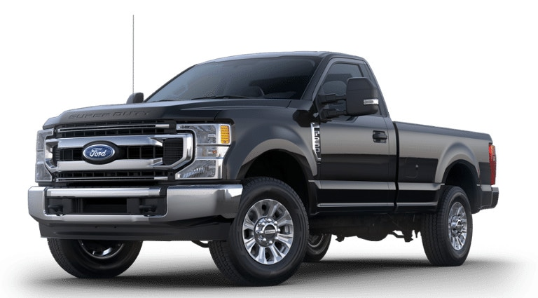 2020 Ford Super Duty XLT in black