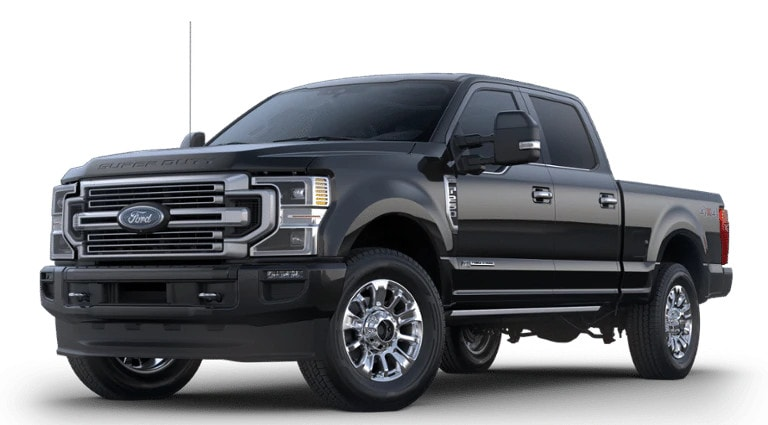 2020 Ford Super Duty Limited in black