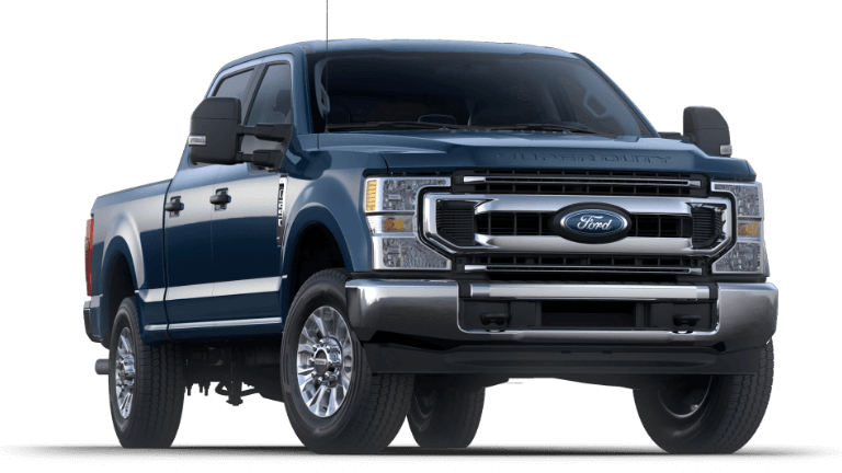 2020 Ford Super Duty F-250 XLT - Blue Jeans