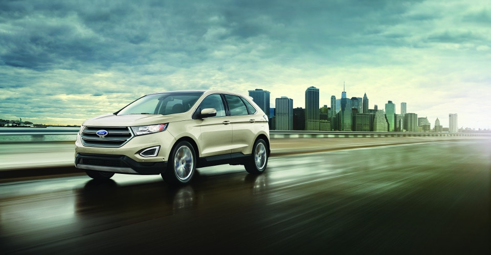2018 Ford Edge Motion Cloudy day