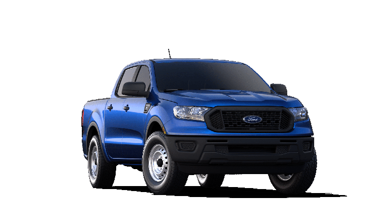 2019 Ford Ranger in blue
