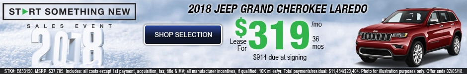 New 2018 Jeep Grand Cherokee Laredo