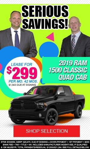 New 2019 Ram 1500 Classic Quad Cab