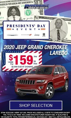 New 2020 Jeep Grand Cherokee Laredo