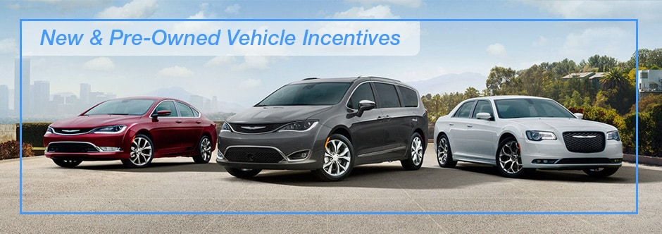 River Front New and Pre-Owned Vehicle Incentives