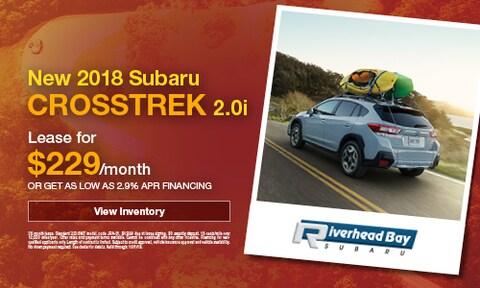 New 2018 Subaru Crosstrek 2.0i