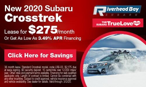 New 2020 Subaru Crosstrek