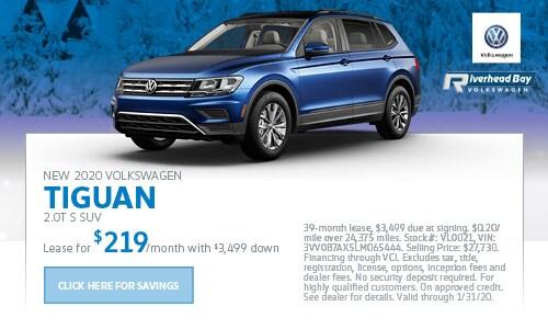 New 2020 Volkswagen Tiguan 2.0T S SUV