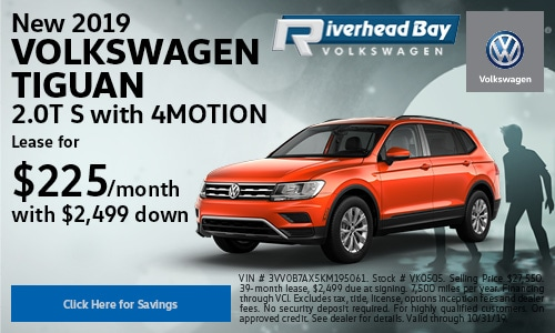 New 2019 Volkswagen Tiguan 2.0T S with 4MOTION