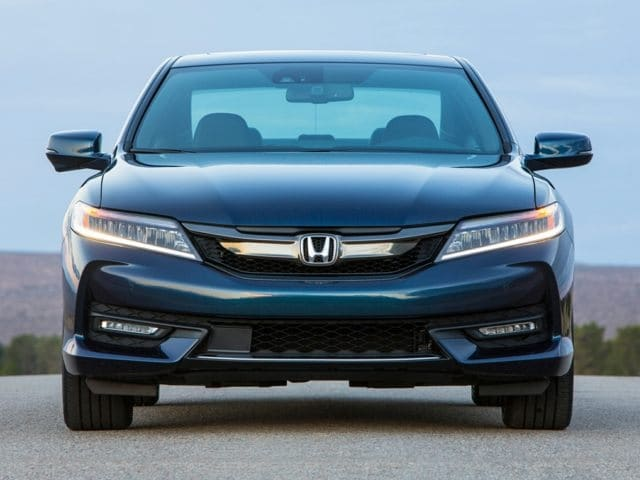 2016 Honda Accord sedan front end