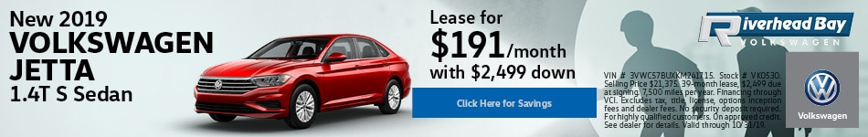 New 2019 Volkswagen Jetta 1.4T S Sedan