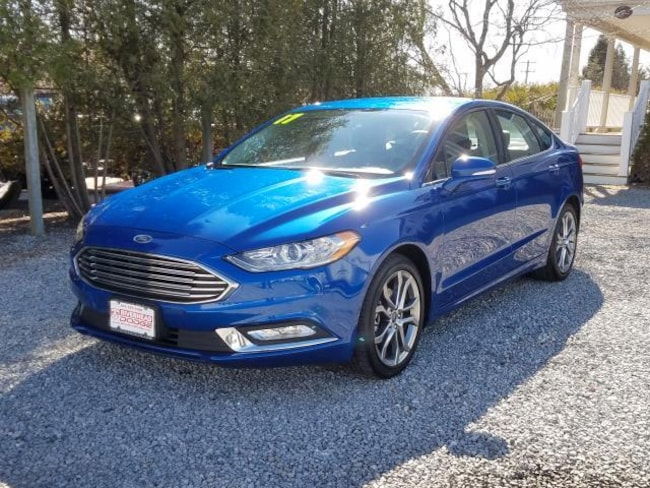 Used Inventory 2017 Ford Fusion SE Sedan for sale in Patchogue