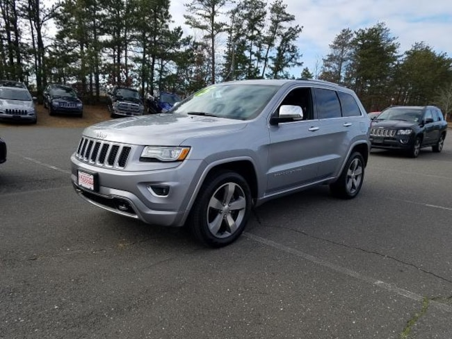 Used Inventory 2015 Jeep Grand Cherokee Overland 4x4 SUV for sale in Patchogue