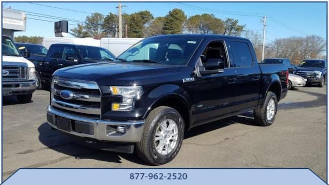Used 2017 Ford F-150 Lariat Crew Cab Pickup in Riverhead, NY