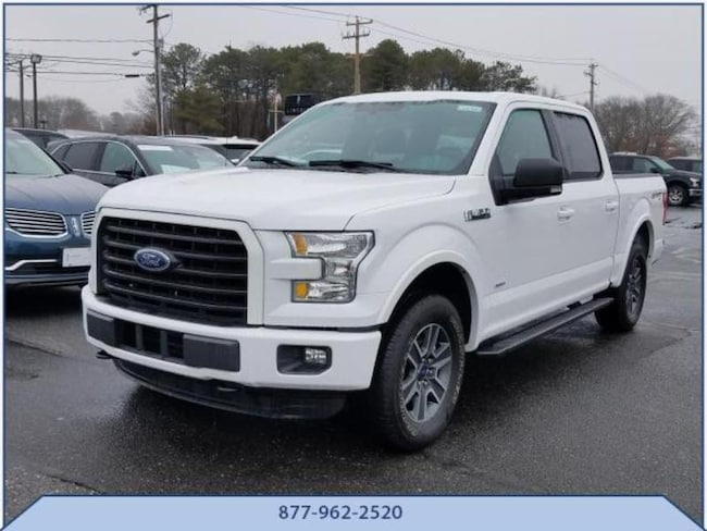 Used 2016 Ford F-150 XLT Crew Cab Short Bed Truck in Riverhead, NY