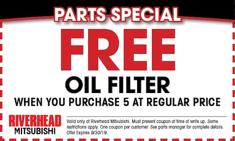 Free Oil Filter!