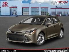 New 2019 Toyota Corolla Hatchback SE Hatchback JTNK4RBE0K3038626 for sale in Riverhead, NY