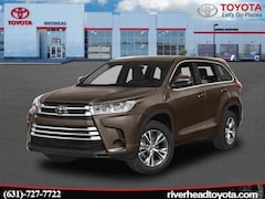 New 2019 Toyota Highlander LE Plus V6 SUV 5TDBZRFH2KS919367 for sale in Riverhead, NY