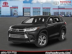 New 2019 Toyota Highlander LE V6 SUV 5TDBZRFH9KS987021 for sale in Riverhead, NY