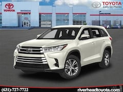 New 2019 Toyota Highlander LE V6 SUV 5TDBZRFH2KS964776 for sale in Riverhead, NY
