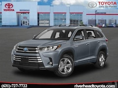 New 2019 Toyota Highlander Hybrid Limited Platinum V6 SUV 5TDDGRFH7KS060193 for sale in Riverhead, NY