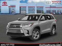 2019 Toyota Highlander LE V6 SUV 5TDBZRFH2KS958525