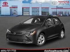 New 2019 Toyota Corolla Hatchback SE Hatchback JTNK4RBE2K3040569 for sale in Riverhead, NY