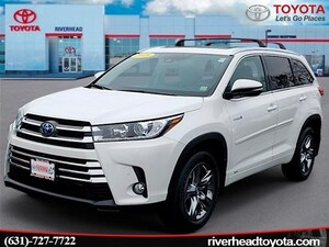 2018 Toyota Highlander Hybrid Hybrid Limited Platinum