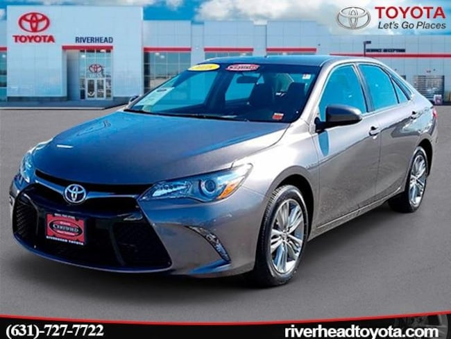Certified Pre-Owned 2016 Toyota Camry SE Sedan for sale in Riverhead, NY