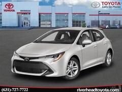 New 2019 Toyota Corolla Hatchback SE Hatchback JTNK4RBE0K3050730 for sale in Riverhead, NY