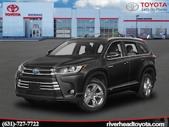 New 2019 Toyota Highlander Hybrid Limited Platinum V6 SUV 5TDDGRFH2KS074177 for sale in Riverhead, NY