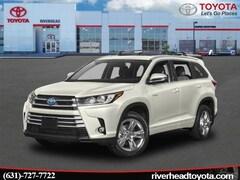 2019 Toyota Highlander Hybrid Limited Platinum V6 SUV 5TDDGRFH0KS064392