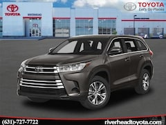 New 2019 Toyota Highlander LE Plus V6 SUV 5TDBZRFH8KS983204 for sale in Riverhead, NY