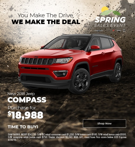 April 2019 2018 Jeep Compass